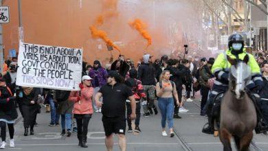 Photo of آسٹریلیا: لاک ڈاؤن میں توسیع پر شہریوں کا احتجاج