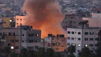 Photo of اسرائيلی جنگی طياروں نے غزہ کی پٹی کے جنوبی حصے ميں بمباری کی