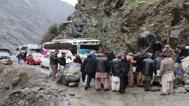 Photo of شاہراہ قراقرم پر مختلف مقامات پر لینڈ سلائیڈنگ