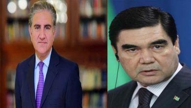 Photo of شاہ محمود قریشی کی ترکمانستان کے صدرقربان قلی بردی محمدوف سے ملاقات