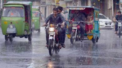 Photo of کراچی کے مختلف علاقوں میں بارش