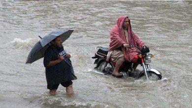 Photo of لاہور کے مختلف علاقوں میں رات بھر وقفے وقفے سے بارش