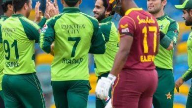 Photo of ویسٹ انڈیز کا پاکستان کو جیت کے لیے 131 رنز کا ہدف