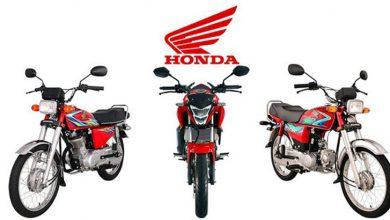 Photo of ہونڈا نے موٹر سائیکلز کی قیمتوں میں اضافہ